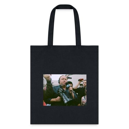Say NO to Alex Jones Censorship - Tote Bag
