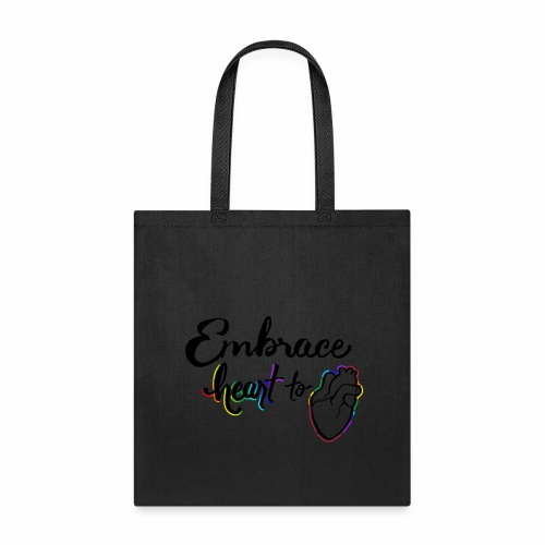 Embrace Heart to Heart - Tote Bag