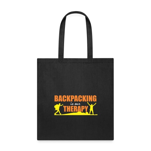 BackPacking is our Therapy - Tote Bag