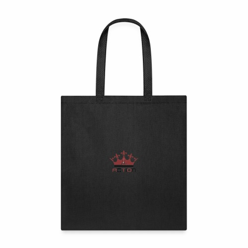 Lit Action Red Crown - Tote Bag