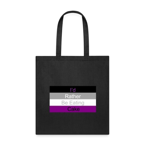 Asexual Cake Flag - Tote Bag