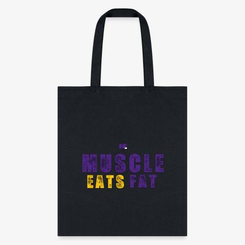 Muscle Eats Fat (Vikings Edition) - Tote Bag