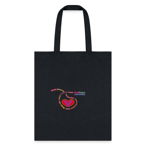 HEALTH ENVIRONMENT VEGAN - Tote Bag