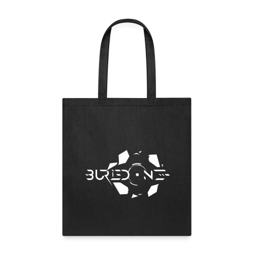 BuriedONE Cryptomining Logo White - Tote Bag