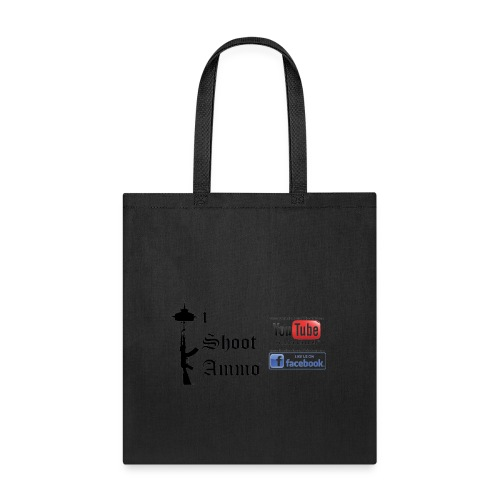 iShootAmmo Logo Youtube & Facebook - Tote Bag