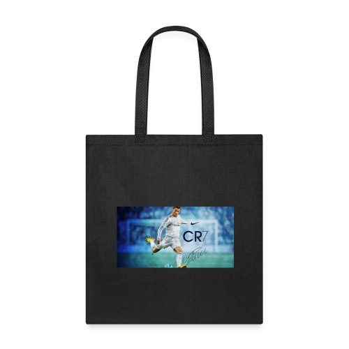 Real Madrid star Cristiano Ronaldo will open his C - Tote Bag