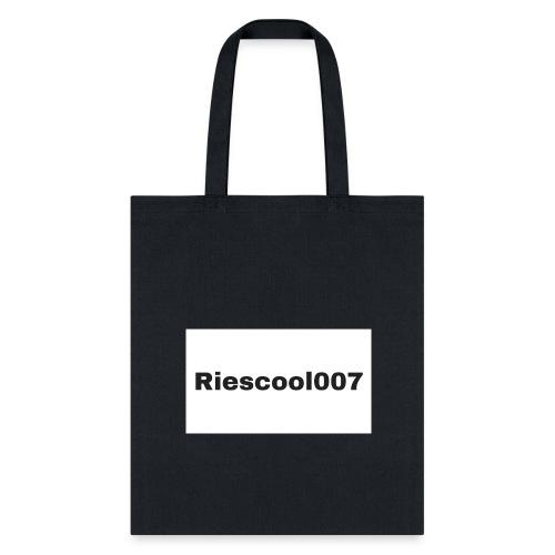 Riescool007 Merch - Tote Bag