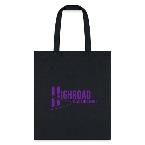 Highroad Logo Overlay Purple - Tote Bag