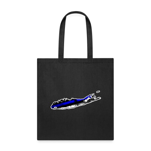 blue line 1 - Tote Bag