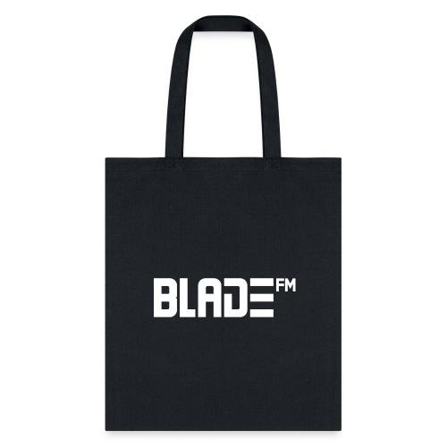 White BladeFM Logo - Tote Bag