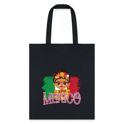 Frida Viva Mexico - Tote Bag