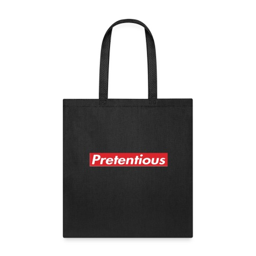 Pretentious - Tote Bag
