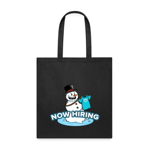 Snow Man Job Fair - Tote Bag