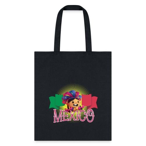 Viva Mexico Girl - Tote Bag