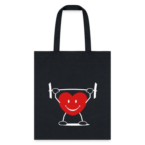 heart sports orig - Tote Bag