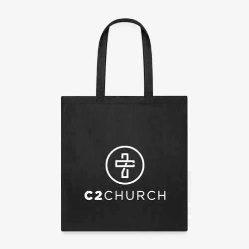 C2 Church Merch with Name (White) - Tote Bag