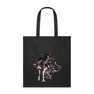 Wolf watercolour - Tote Bag