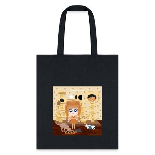 Kittie Girl - Tote Bag