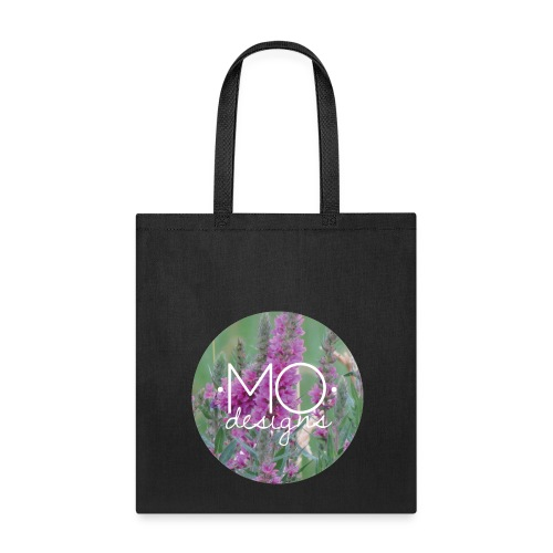 •MO• designs Purple Logo - Tote Bag
