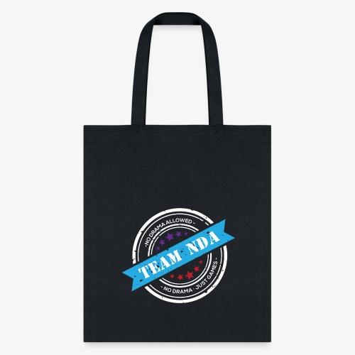 TeamNDA_White - Tote Bag