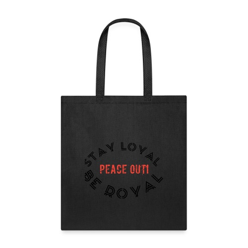 Peace out haters - Tote Bag