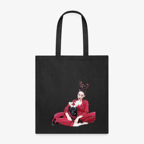 Zoe Pupper Holidays - Tote Bag