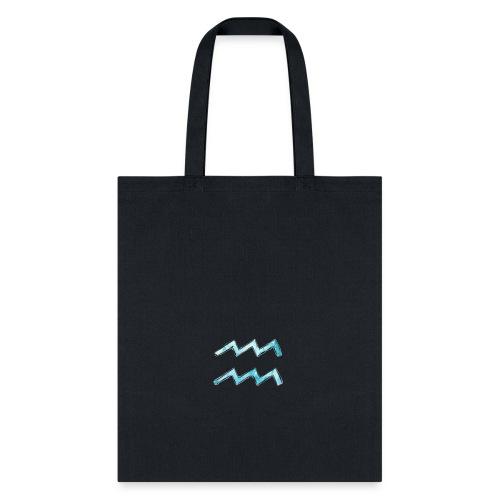 Aquarius Glyph - Tote Bag