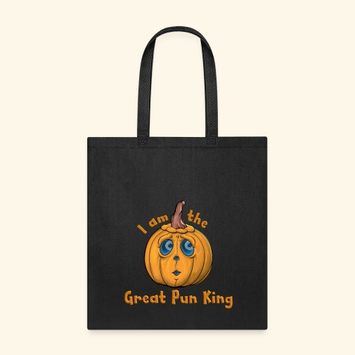 The Great Pun King - Tote Bag