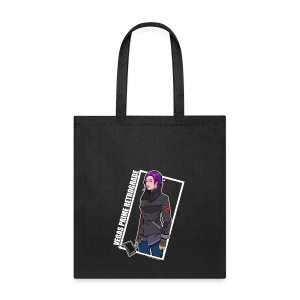 Vegas Prime Retrograde - Clara with White Border - Tote Bag