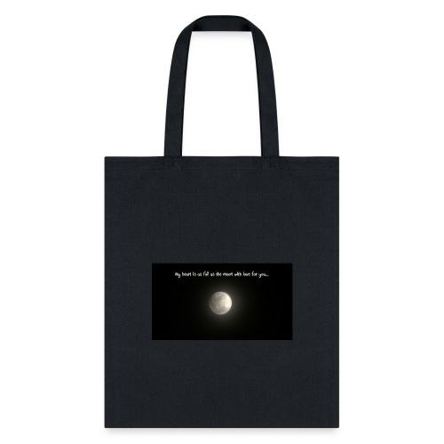 Full Moon Love - Tote Bag
