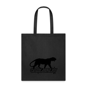 Camouflow Panther Logo - Tote Bag