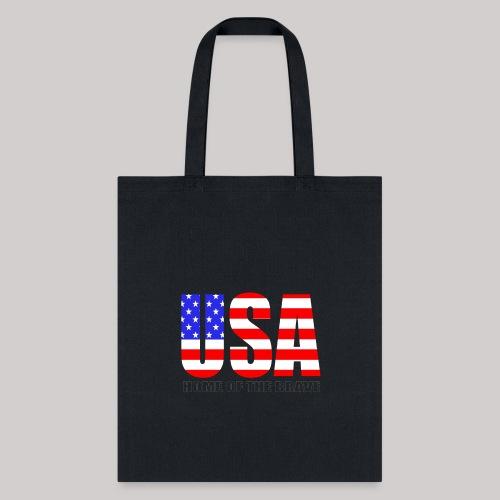 USA Home Of The Brave - Tote Bag