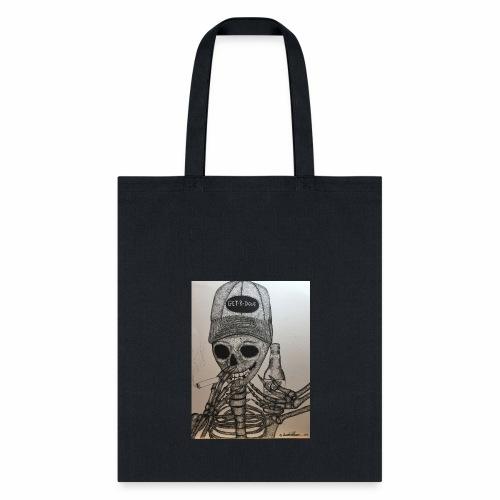 Get R Done Skele - Tote Bag