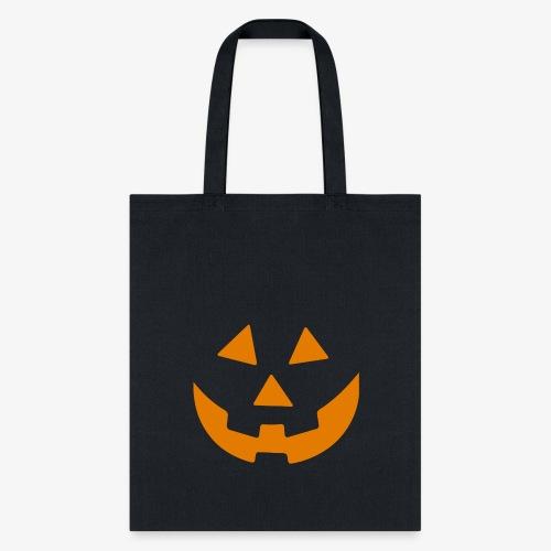 Pumpkin Face - Tote Bag