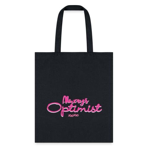 always optimist Girl - XOXO - Tote Bag