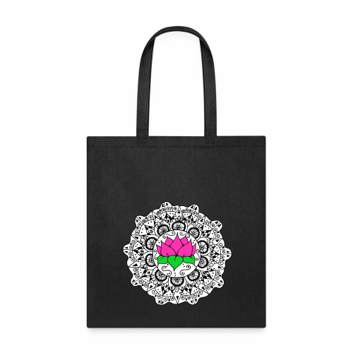 Lotus Flower Mandala - Tote Bag