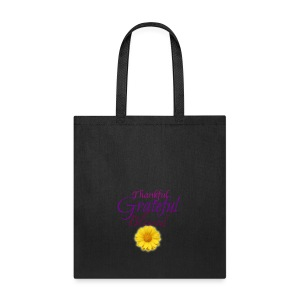 Thankful grateful blessed - Tote Bag