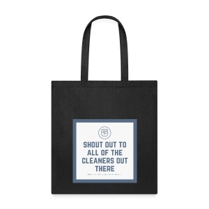 Cleaner Shout Out - Tote Bag