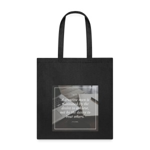 Ayn Rand Quote - Tote Bag
