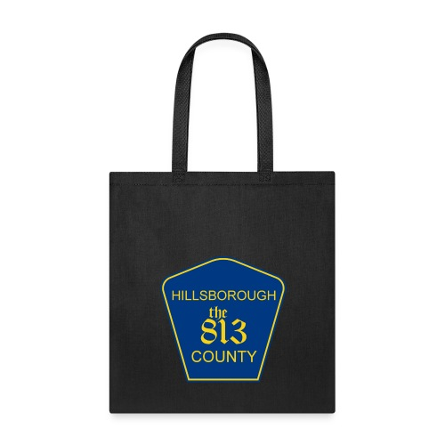 Hillsborough the813 County - Tote Bag