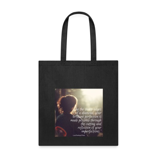 perfection-imperfections - Tote Bag