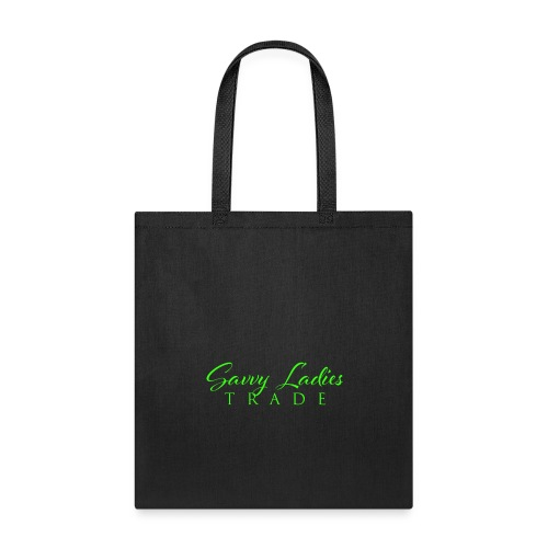 Savvy Ladies Trade Green Logo - Tote Bag