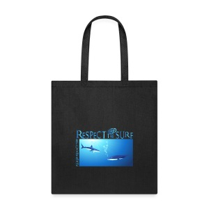 Respect The Shark - Tote Bag