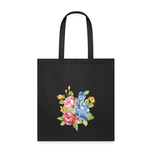 Maggie the Mommy Logo Flower - Tote Bag
