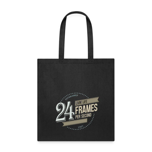 Livin' Life 24 Frames per Second - Tote Bag