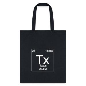 Texas Periodic Table - Tote Bag