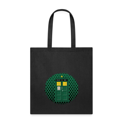 Green Phone box art - Tote Bag