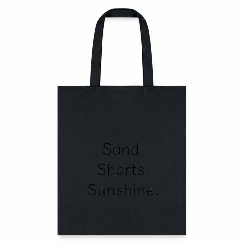 Sand Short Sunshine - Tote Bag