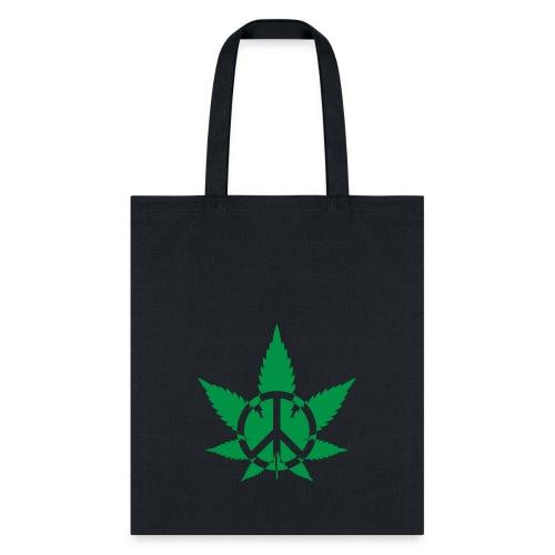 Peace Weed - Tote Bag