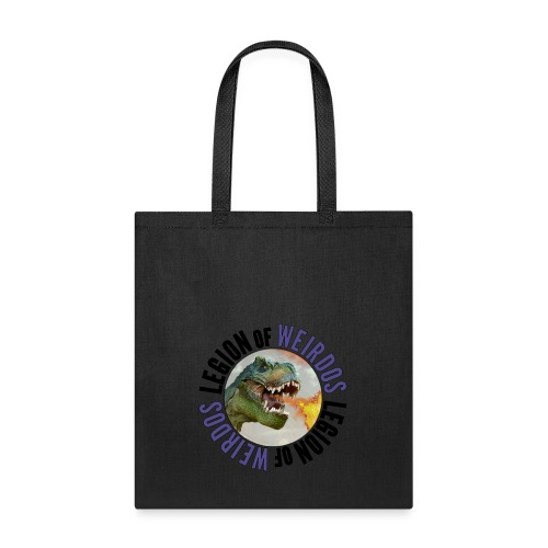 Legion of Weirdos Dino Circle - Tote Bag